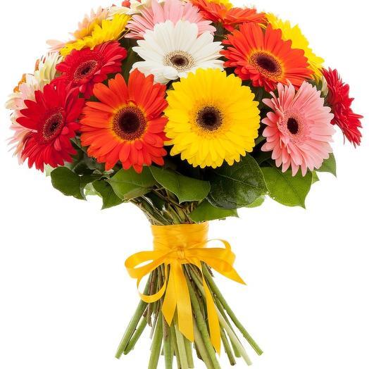 Букет из 25 гербер: букеты цветов на заказ Flowwow