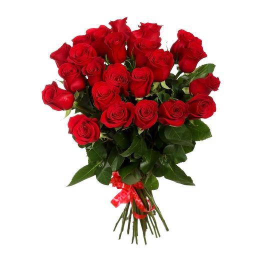 21 Червона троянда преміум