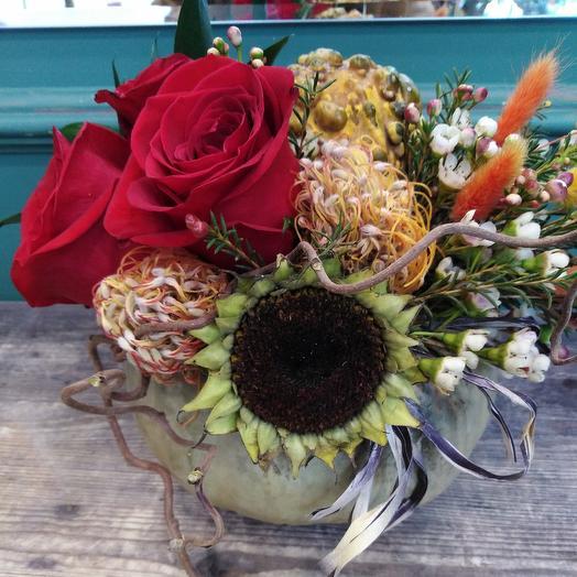 Дары природы: букеты цветов на заказ Flowwow