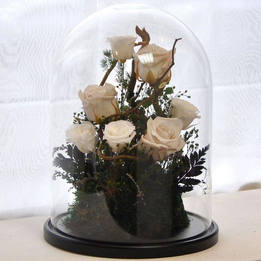 """КОМПОЗИЦИЯ """"БУКЕТ НЕВЕСТЫ МИНИ"""": букеты цветов на заказ Flowwow"""