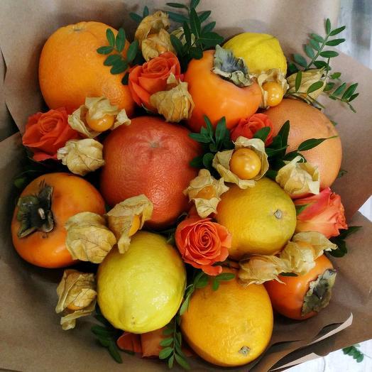 Грейпфрут: букеты цветов на заказ Flowwow