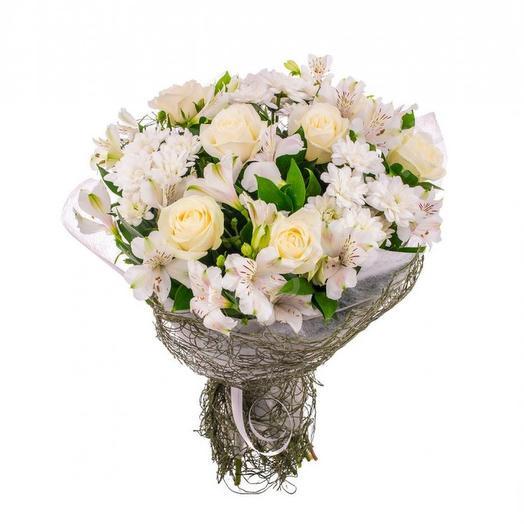 """Букет """"Облако"""": букеты цветов на заказ Flowwow"""