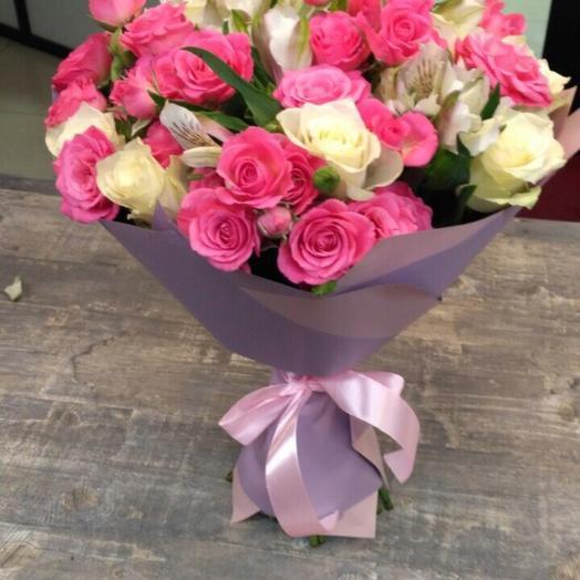 Букет Сандра: букеты цветов на заказ Flowwow