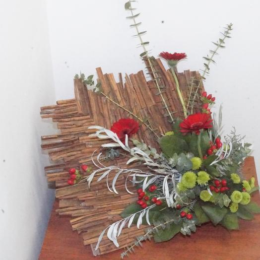 Настольное панно - картина: букеты цветов на заказ Flowwow