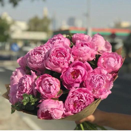 Пионовый сорбет: букеты цветов на заказ Flowwow