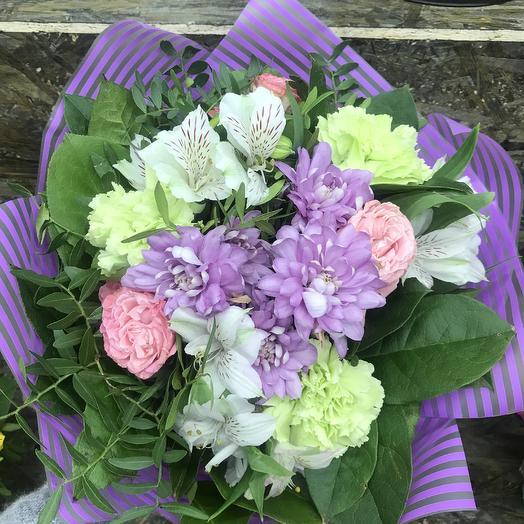 Сиреневая нежность 💜: букеты цветов на заказ Flowwow