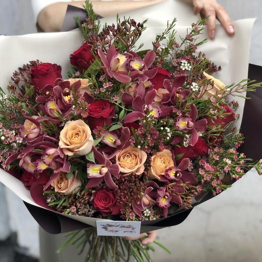 Букет «Барбара»: букеты цветов на заказ Flowwow