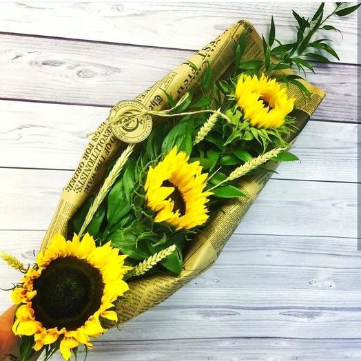 Мужской стильный: букеты цветов на заказ Flowwow