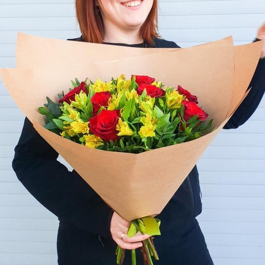 "Букет ""Трепетная любовь"": букеты цветов на заказ Flowwow"