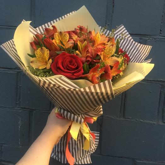 Букет « Осенний джаз»: букеты цветов на заказ Flowwow