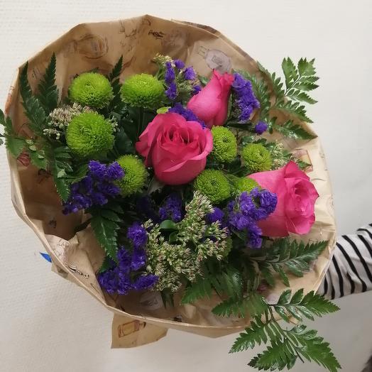 """Букет """"Пурпурная радость"""": букеты цветов на заказ Flowwow"""
