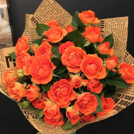 Букет роз: букеты цветов на заказ Flowwow