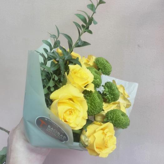 Радостный: букеты цветов на заказ Flowwow