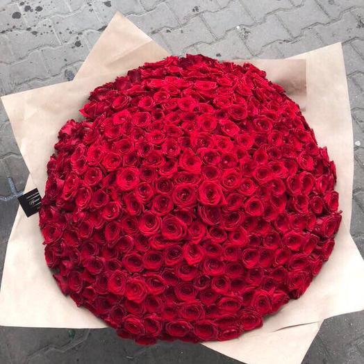 Розы в корзине 201 шт: букеты цветов на заказ Flowwow