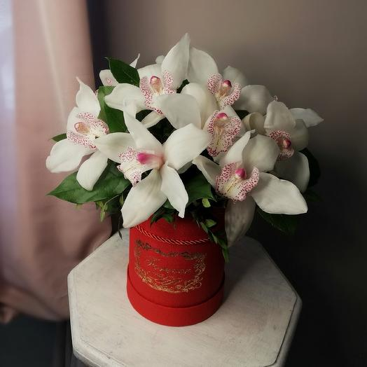 "Коробка ""Бабочки"": букеты цветов на заказ Flowwow"
