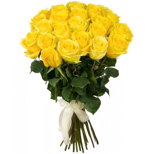 Розы желтые: букеты цветов на заказ Flowwow