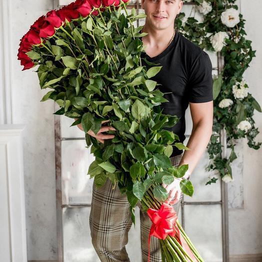 Гигантские розы 150 см - 25шт