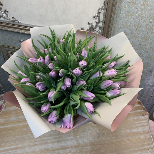 Тюльпаны Дабл Прайс 49 шт