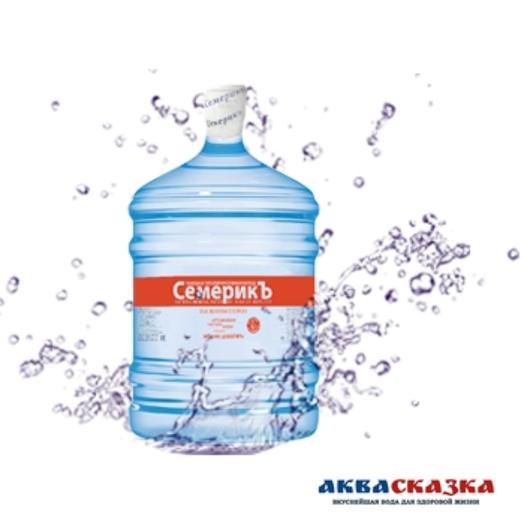 Природная питьевая вода «Семерикъ», 19 л