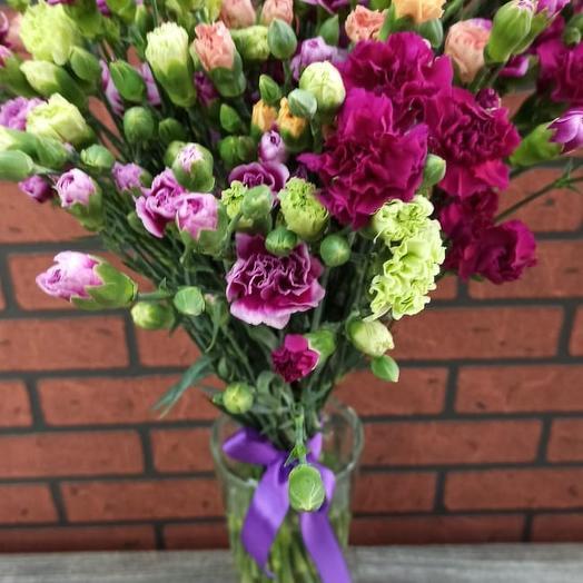 Гвоздика кустовая: букеты цветов на заказ Flowwow