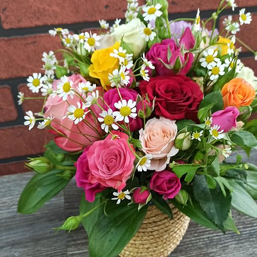 "Композиция ""Лютик"": букеты цветов на заказ Flowwow"