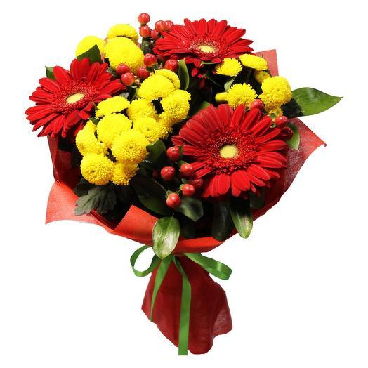 """Букет цветов """"Вечное пламя"""""""