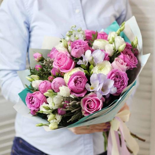 "Букет цветов ""фантан """