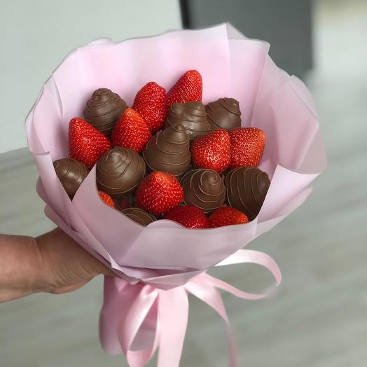 """A bouquet of Chocolate-covered Strawberries """"Good morning"""""""