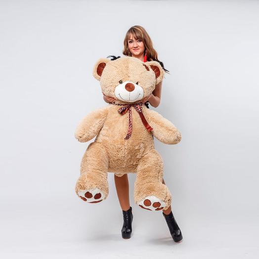 Большой Медведь Тони 150 см (кофейный)