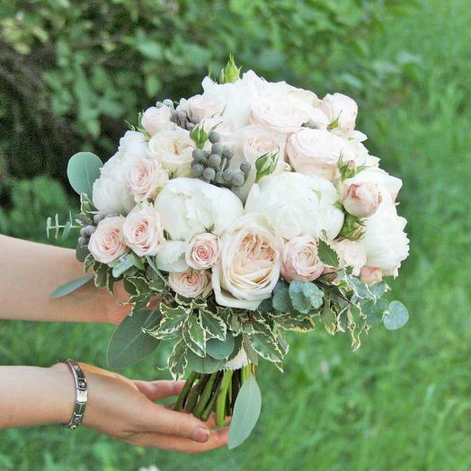 Букет невесты Luxury Flowers Воздушное безе