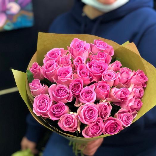 Розовые розочки