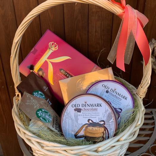 Подарочная корзина «Изысканное чаепитие»
