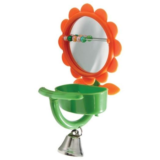 "Triol игрушка для птиц - зеркало ""Кормушка"", 75*150мм"