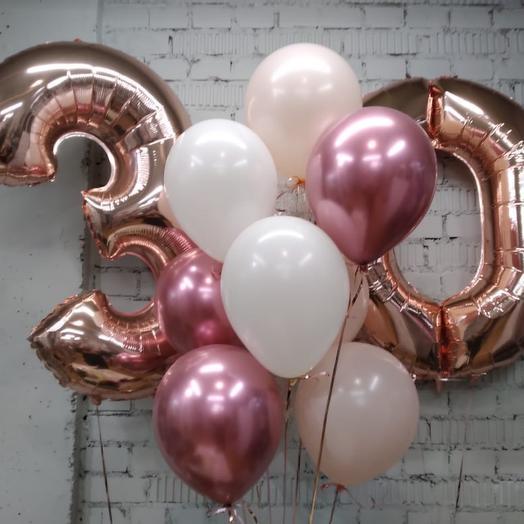 «30» Розовое Золото