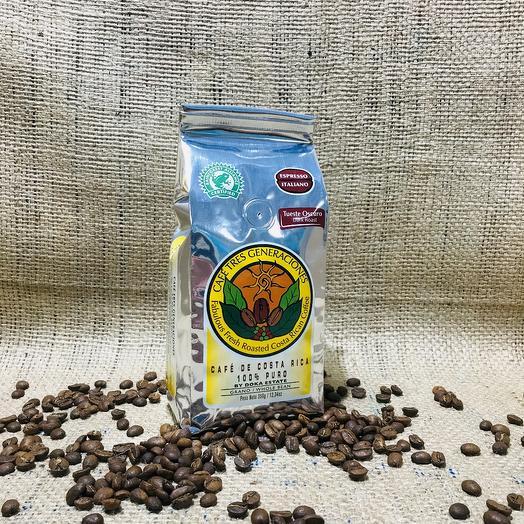 Кофе в зернах Espresso Italiano Коста-Рика 350 грамм