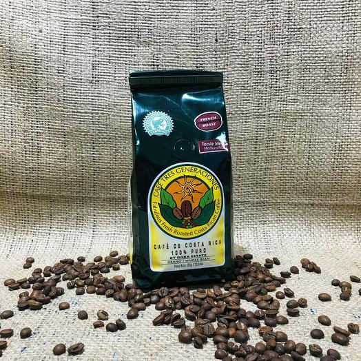 Кофе в зернах French Roast Коста-Рика 350 грамм