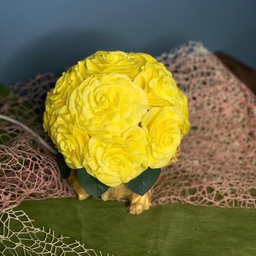 Ночник Лимонные розы