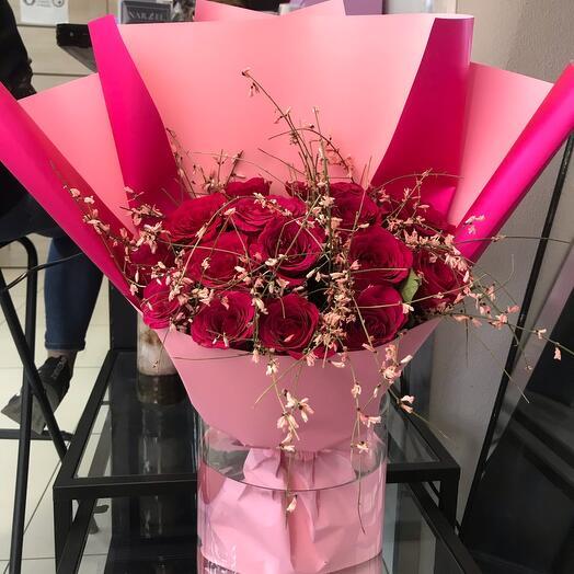 Розовое игристое