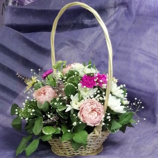 Корзина с цветами Джульета