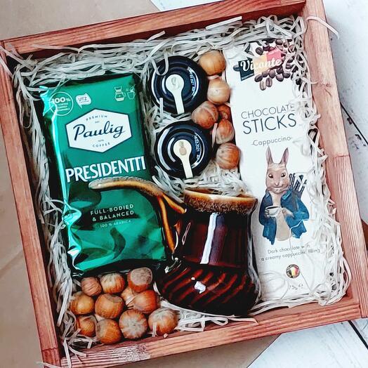 Подарочный набор с керамической туркой
