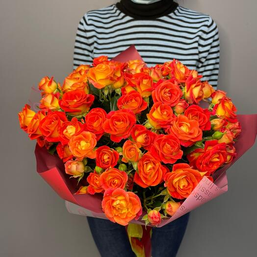 ✅15 кустовых роз