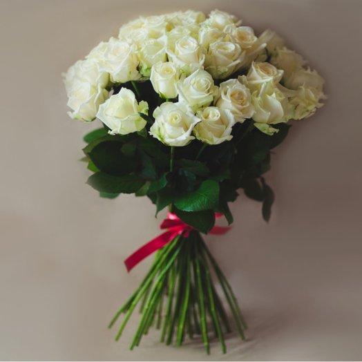 51 white rose: flowers to order Flowwow