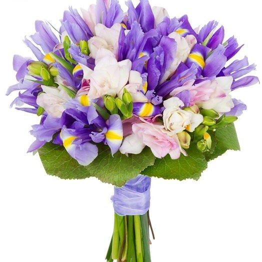«Вечернее озеро»: букеты цветов на заказ Flowwow