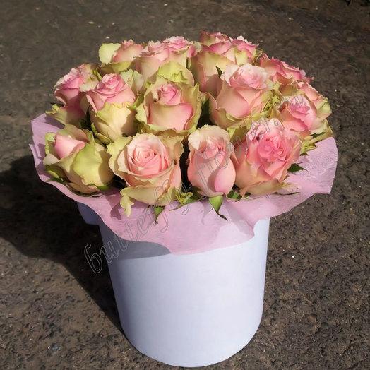 Розовое суфле (Композиция 275): букеты цветов на заказ Flowwow
