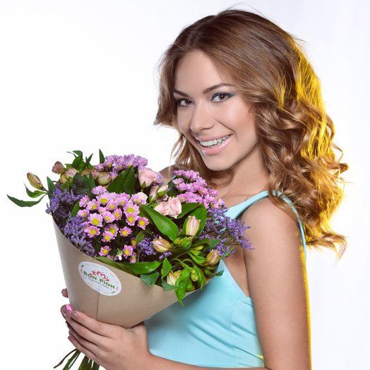 МиниБон : букеты цветов на заказ Flowwow