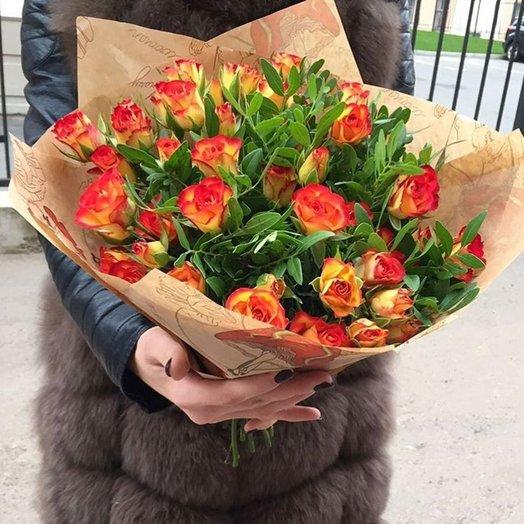 Рыжее настроение: букеты цветов на заказ Flowwow