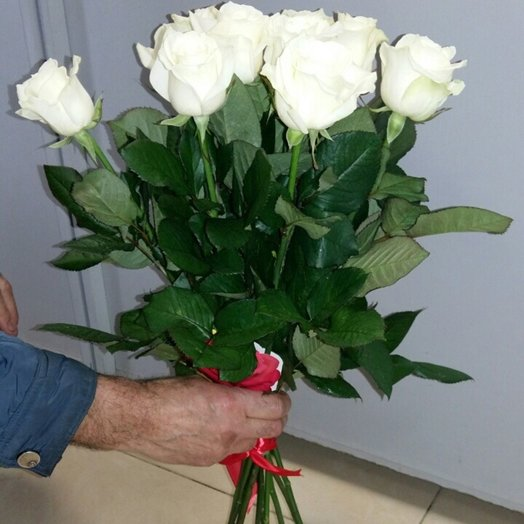 Букет белоснежка: букеты цветов на заказ Flowwow