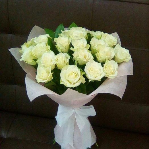 25 роз по АКЦИИ: букеты цветов на заказ Flowwow