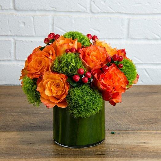 Пламя Огня: букеты цветов на заказ Flowwow