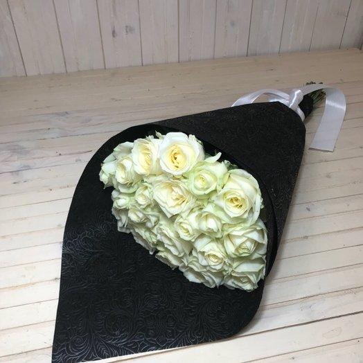 21 роза Аваланж: букеты цветов на заказ Flowwow